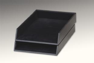 LEATHER CORRESPONDENCE BOX