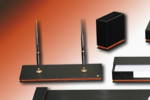 NEW DIPLOMATE PU DESK SET