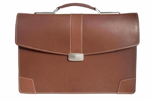 LEATHER BRIEFCASE - 6076