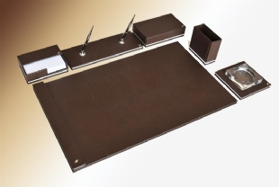 LEATHER DESKSET NEW DIPLOMATE