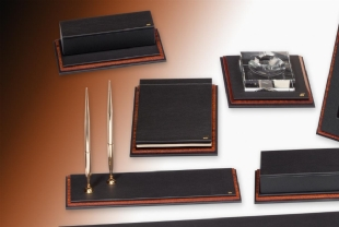 SMART Luxury Leather Desk set
