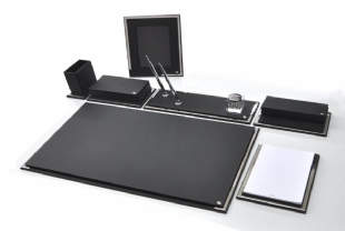 SMART Exclusive Crome Desk Set