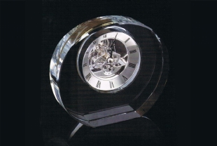 CRISTAL TABLE CLOCK