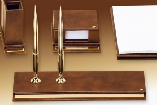 NEAT Exclusive Gold Deskset