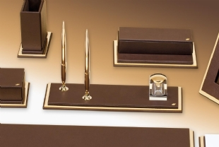 SMART Exclusive Gold Desk set