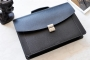 22519 LEATHER BRIEFCASE