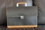 27316 LEATHER BRIEFCASE