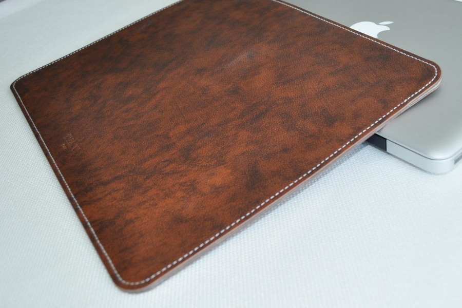 25538 LEATHER LAPTOP CASE