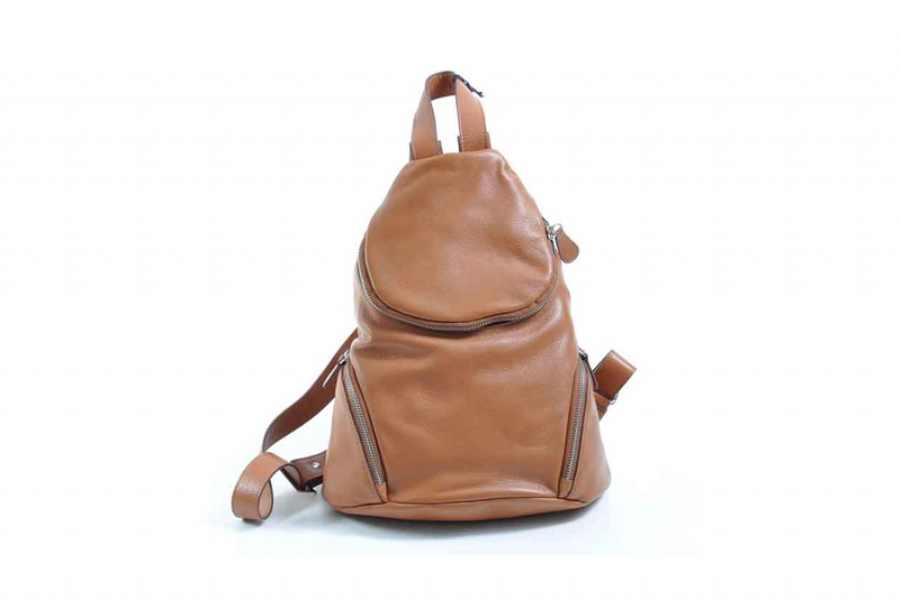 30333 - LEATHER BACKPACK