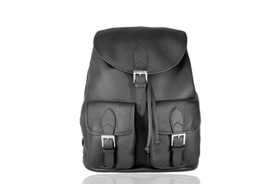 30114 - LEATHER BACKPACK