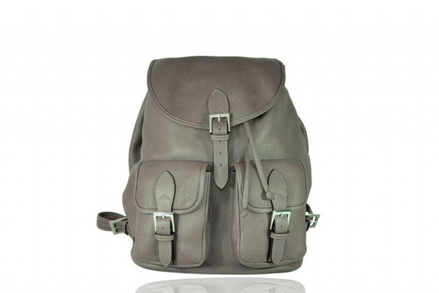 30126 - LEATHER BACKPACK