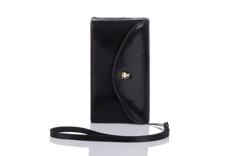 36512 - LEATHERCARD HOLDER AND MOBILE PHONE CASE